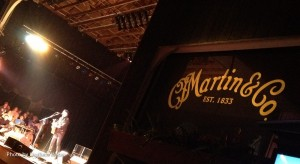 The MARTIN stage at the Philadelphia Folk Fest.