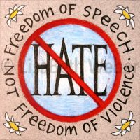freedom_of_speech_not_freedom_of_hate©LisaBethWeber