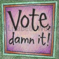 vote_damn_it_pin©LisaBethWeber