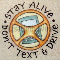 dont_text_and_drive_pin©LisaBethWeber