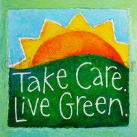 take_care_live_green_pin©LisaBethWeber
